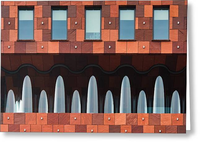 Windows And Mas Greeting Card by Greetje Van Son
