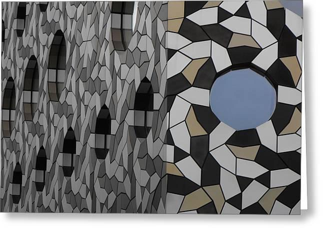 Windows Greenwich 01 Greeting Card
