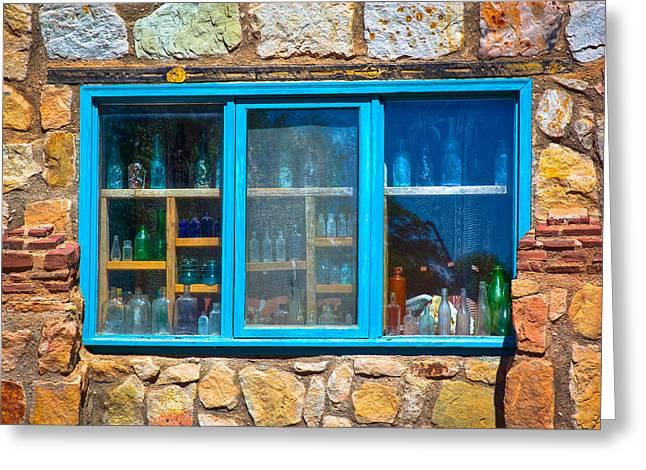 Windows Of New Mexico I Greeting Card by David Patterson