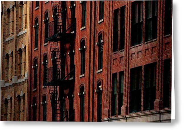 Windows Of New York Greeting Card