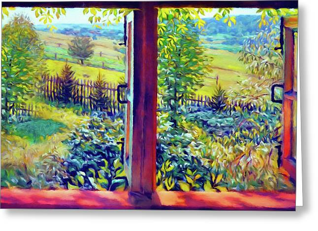 Windows Of Your Mind Greeting Card