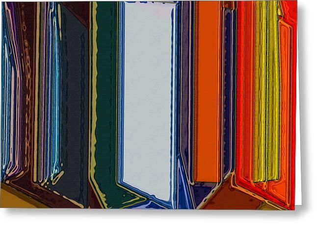 Windows Greeting Card by Patrick Guidato
