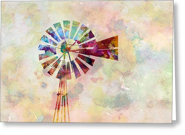Winds Of Iowa Greeting Card