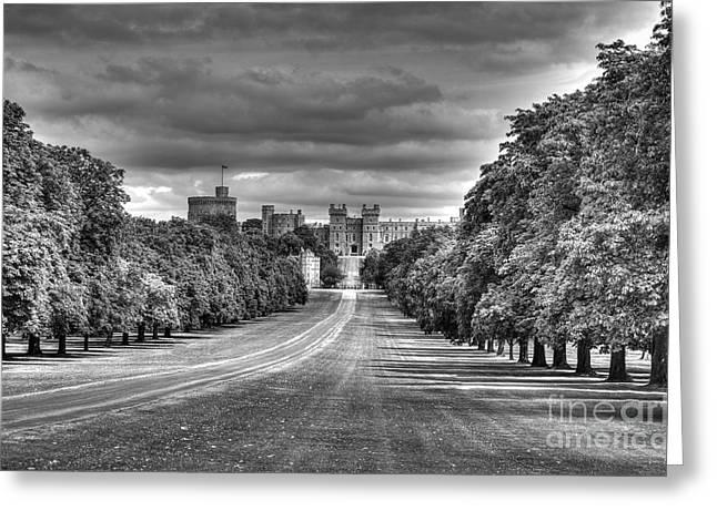Windsor Castle  Infrared Greeting Card