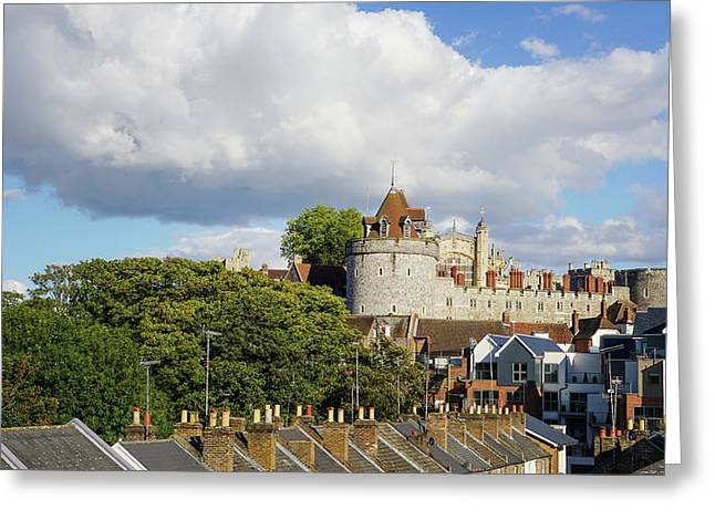Greeting Card featuring the photograph Windsor by Joe Winkler