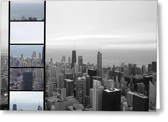 Windy City Greeting Card by 2141 Photography