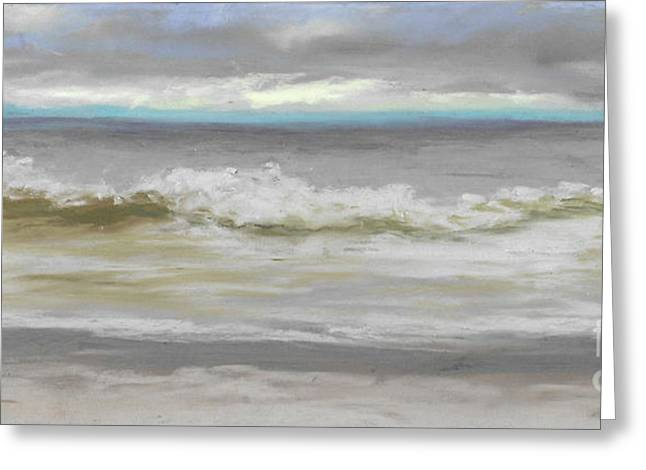 Windy Hill Beach - Myrtle Beach, Sc Greeting Card by Terri  Meyer