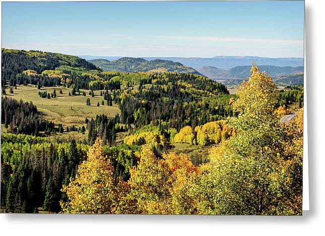 Windy Point View - Cumbres Pass - Colorado 4 Greeting Card