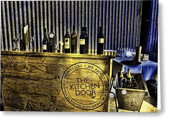 Wine Bazaar Greeting Card by Douglas Barnard