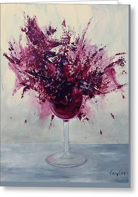 Wine Bouquet Greeting Card