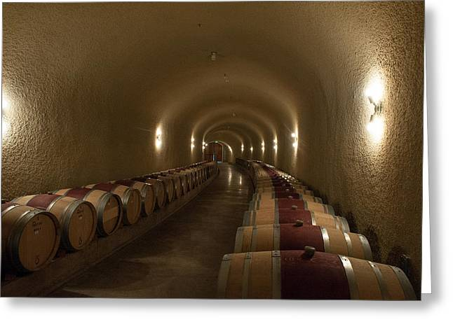 Wine Cave-3 Greeting Card