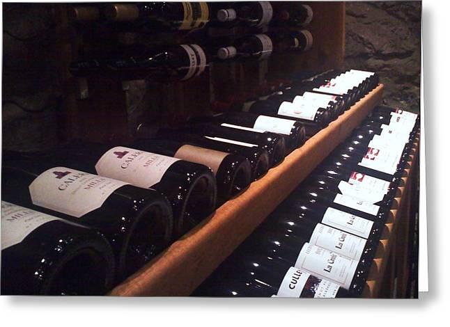 Wine Cellar 1711 Greeting Card by D Steven Brito