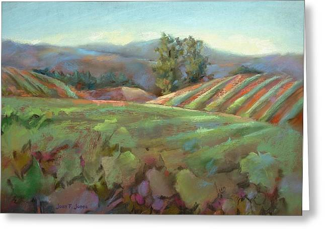 Wine Country Greeting Card by Joan  Jones