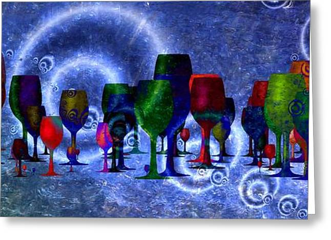 Wine  Greeting Card