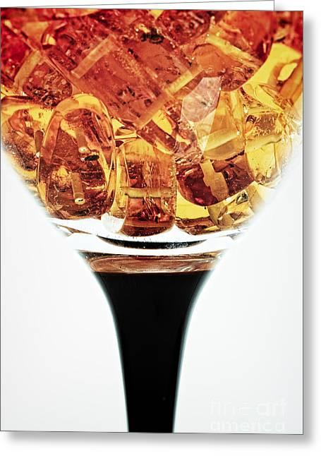 Wineglass #8330 Greeting Card
