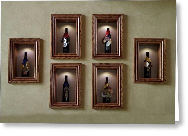 Winery Anyela's Vineyard Skaneateles New York Awards Greeting Card