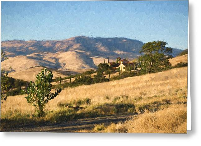 Winery At Ashland Oregon Greeting Card by Kenneth Roberts