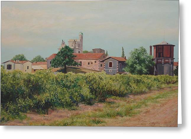 Winery In Provence Greeting Card