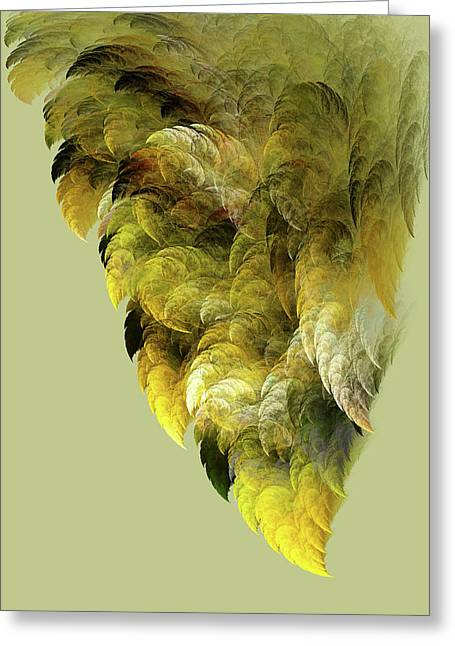 Winged Greeting Card by Bonnie Bruno