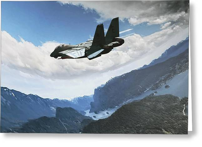 Wingman View Greeting Card
