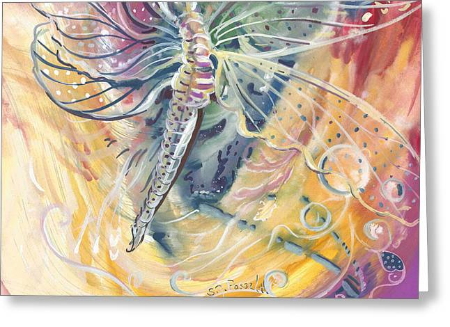 Wings Of Transformation Greeting Card
