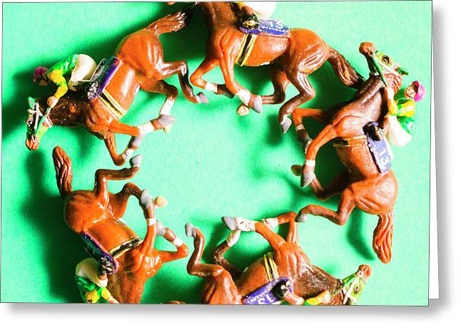 Winners Circle Greeting Card