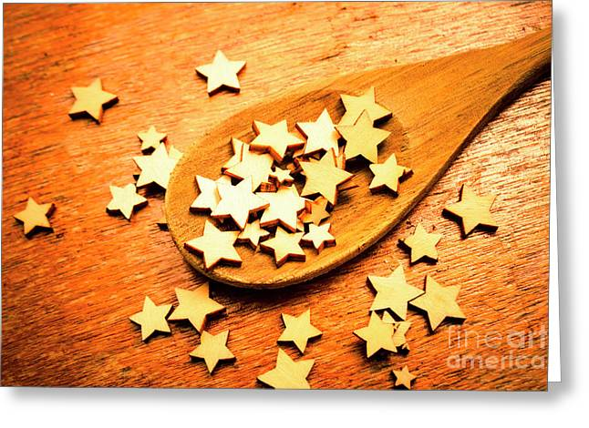 Winning Star Recipe Greeting Card by Jorgo Photography - Wall Art Gallery