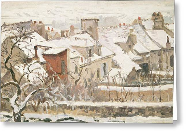 Winter, 1872  Greeting Card
