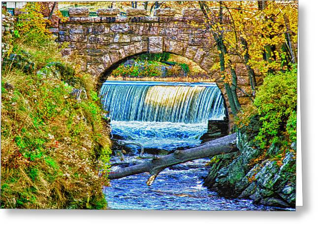 Frank Feliciano Greeting Cards - Winter Approaches Milford Connecticut Greeting Card by Frank Feliciano