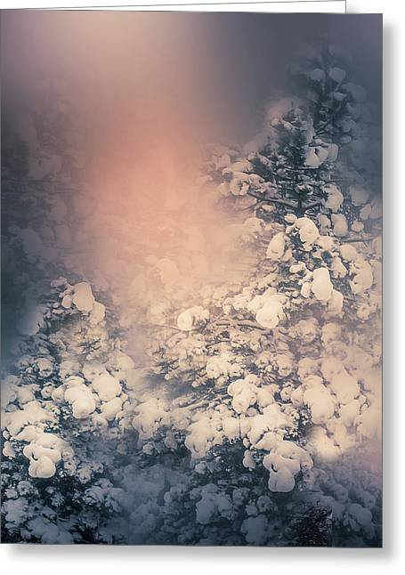 Winter Greeting Card by Art Spectrum
