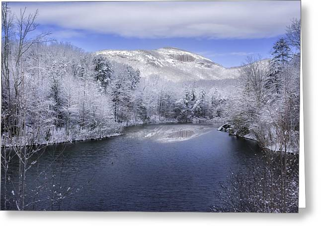 Winter At Table Rock State Park Greeting Card by Johan Hakansson