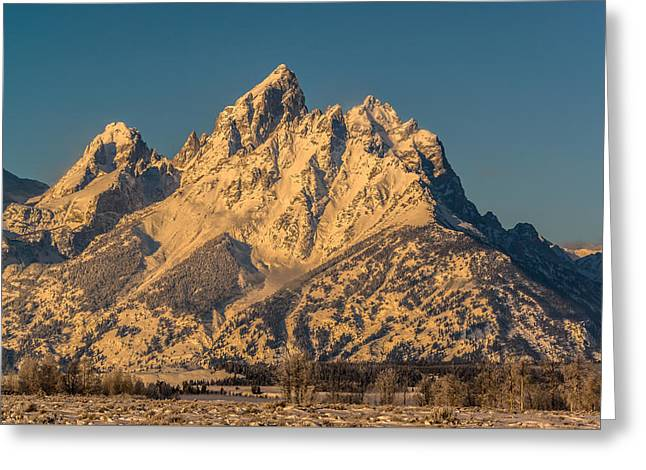 Winter At The Grand Greeting Card by Yeates Photography