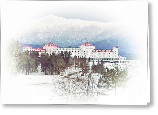 Winter At The Mt Washington Hotel 2 Greeting Card