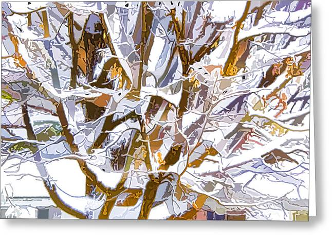 Winter Branches 2 Greeting Card by Lanjee Chee