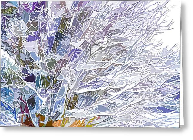Winter Branches Greeting Card by Lanjee Chee