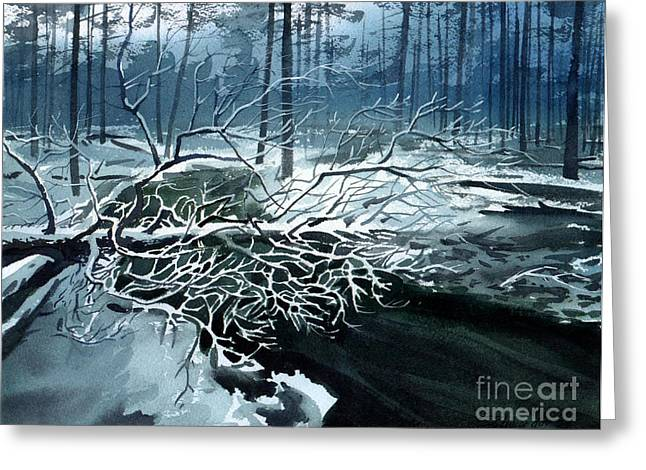 Winter Branches Greeting Card