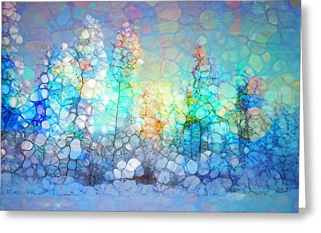 Winter Cheer Greeting Card by Tara Turner