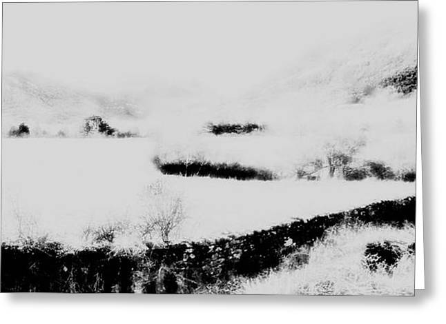 Winter Greeting Card by Contemporary Art