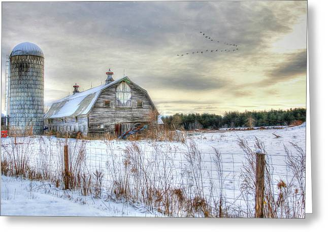 Winter Days In Vermont Greeting Card