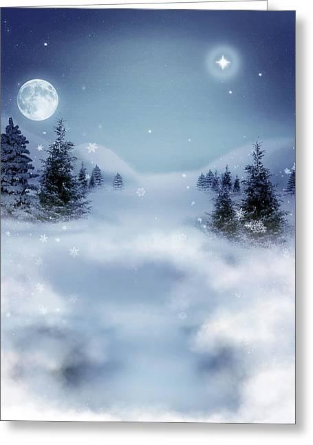 Winter Greeting Card by Ellen Henneke