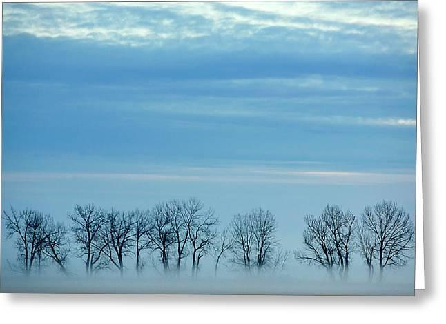 Winter Envelops Greeting Card by Todd Klassy