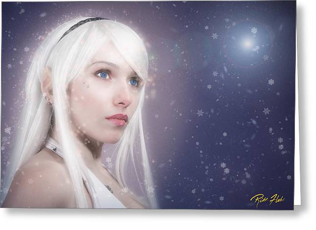 Winter Fae Greeting Card