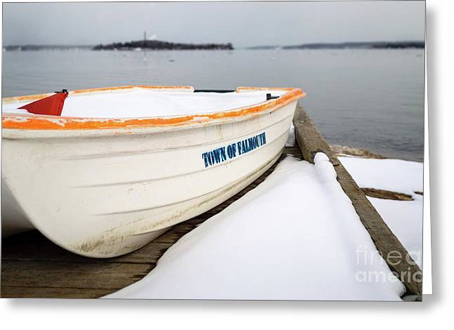 Winter, Falmouth, Maine  -18674 Greeting Card