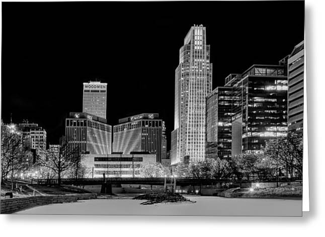Winter Holidays In Omaha Greeting Card