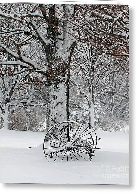 Winter Hush Greeting Card by Diane E Berry