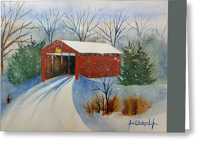 Winter In Lancaster County Pa Greeting Card by Don Whitesel