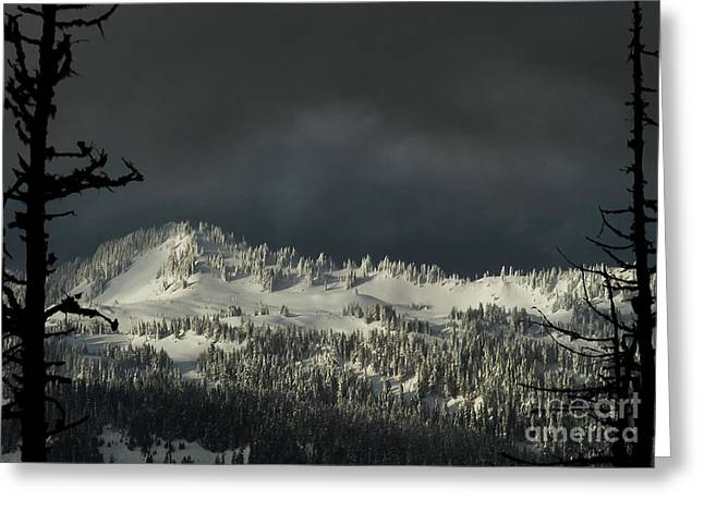 Winter In North Cascades Greeting Card