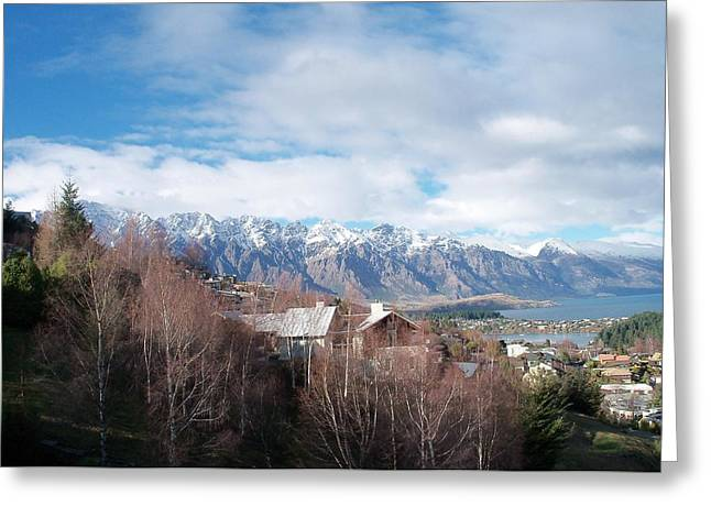Winter In Queenstown Greeting Card