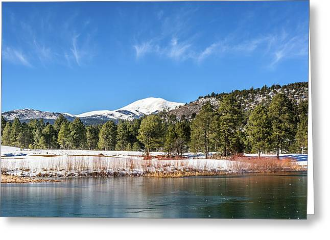 Winter In Ruidoso Greeting Card