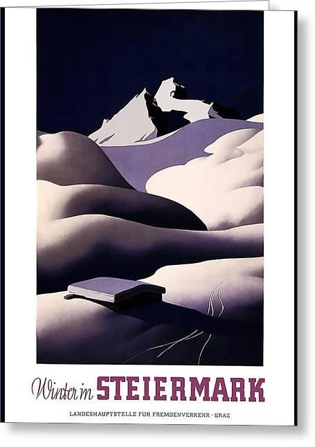 Winter In Steiermark Greeting Card by David Wagner